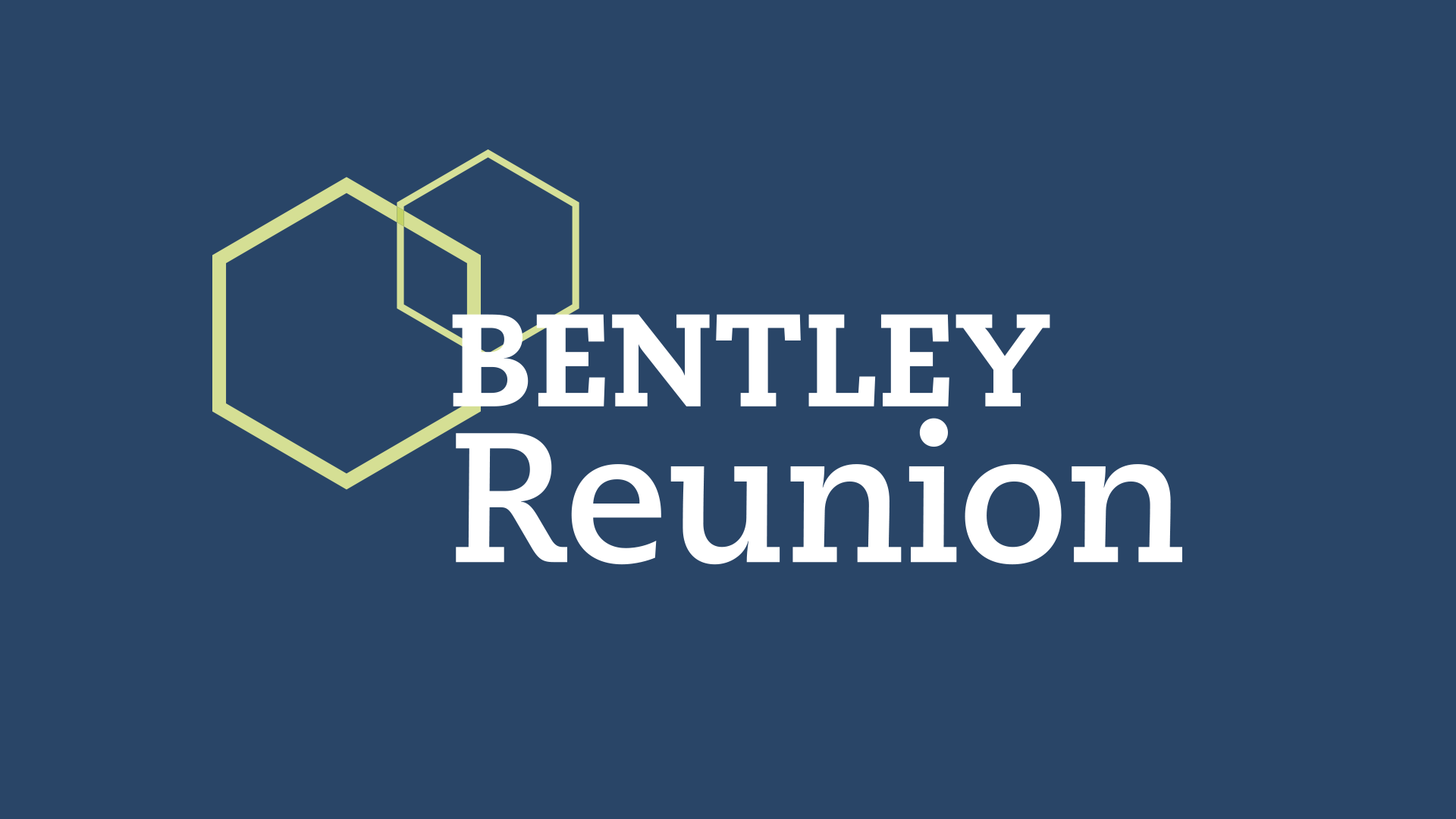 Bentley Reunion logo