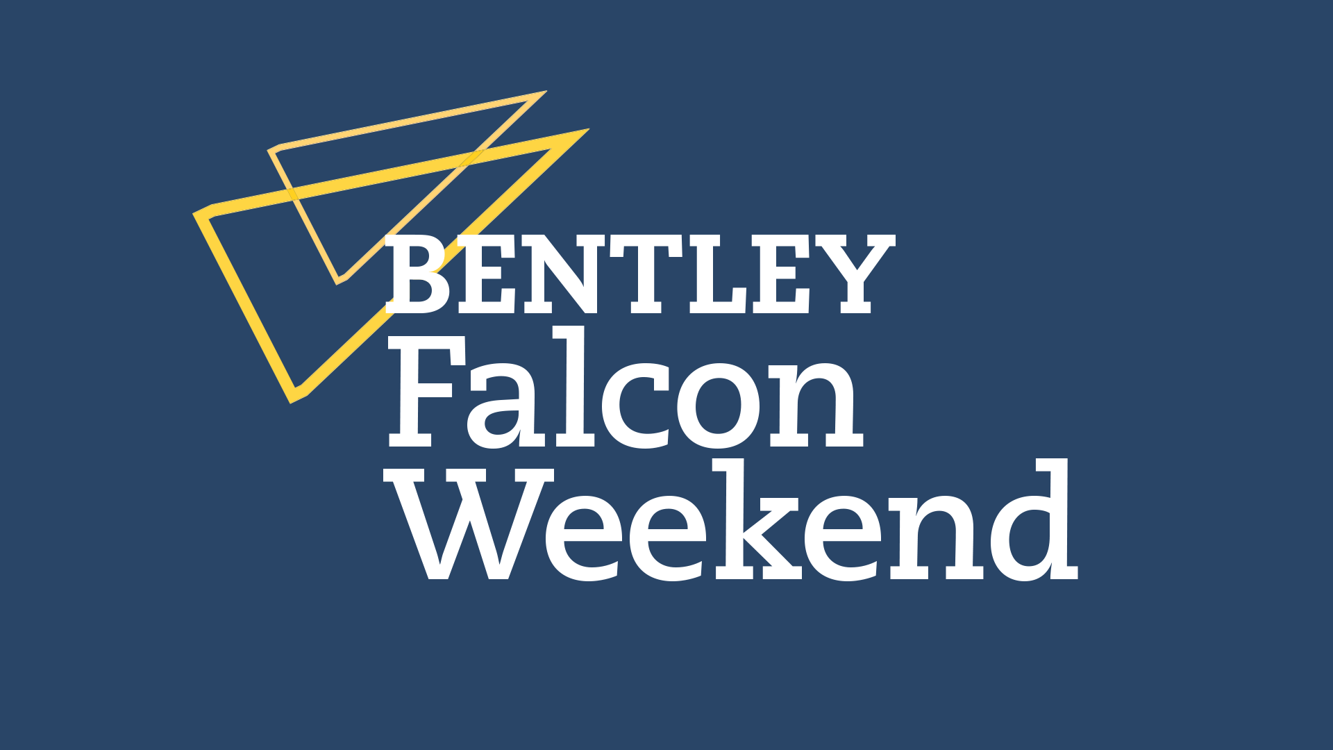 Bentley Falcon Weekend logo