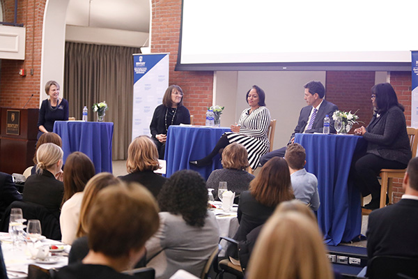 Four panelists at the 2020 Women On Boards 2018 events share stories about their board experiences