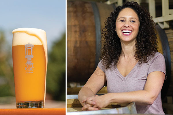 Bentley University graduate Esther Rothstein Tetreault owns Trillium Brewing