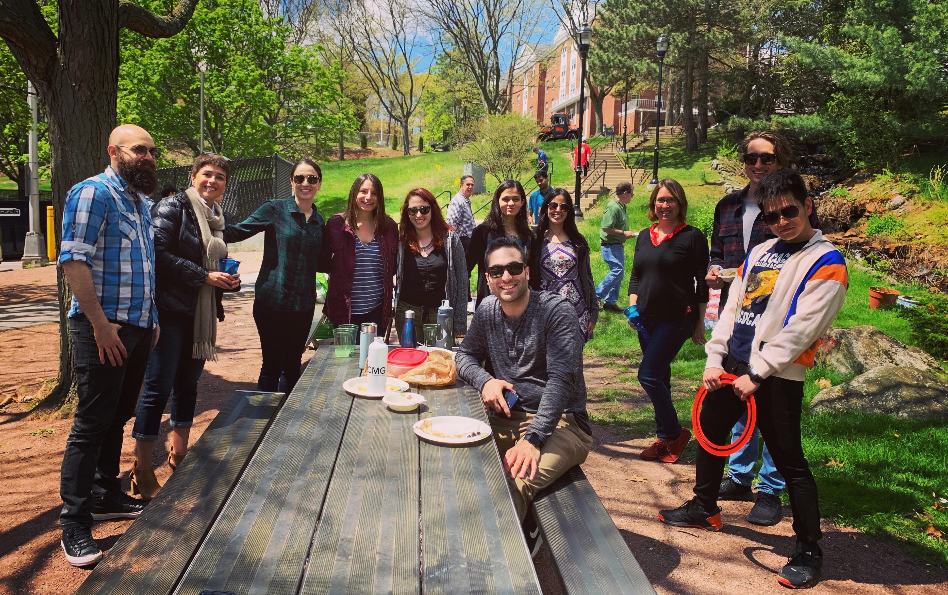 group picnic.