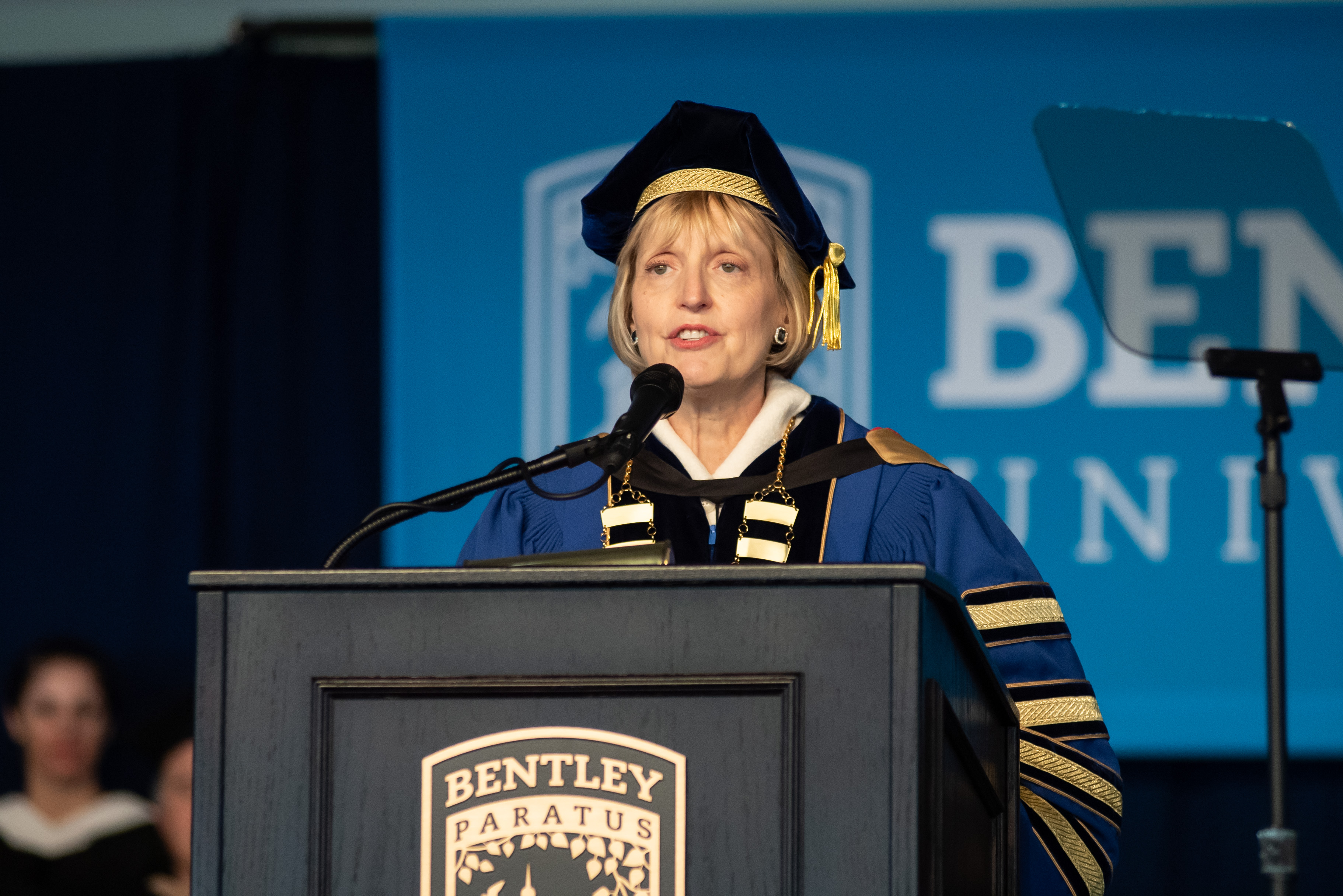 President Davis-Blake addresses the class of 2019