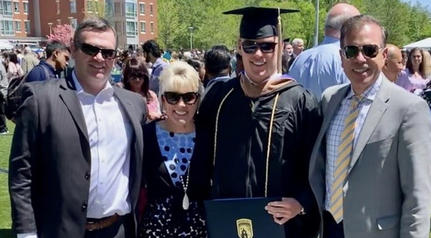Pulsifer Family at Commencement