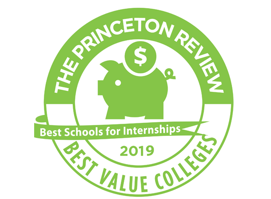 princeton review best colleges badge 2019