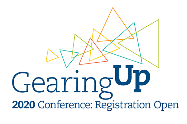 Gearing Up Logo 2020 Conference Registration Open