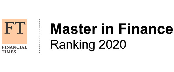 Financial Times Master in Finance Ranking 2020