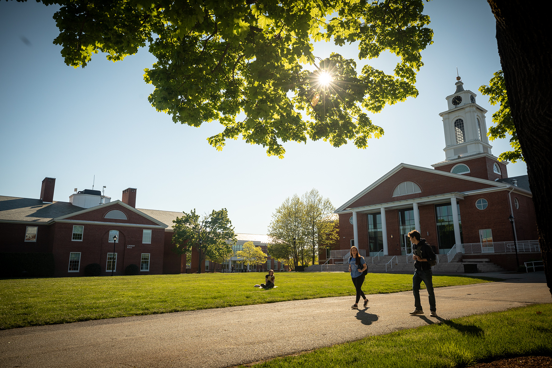 Shot of Bentley Campus
