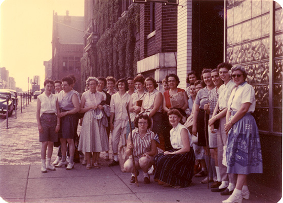 Early female students from BSA ca 1950s