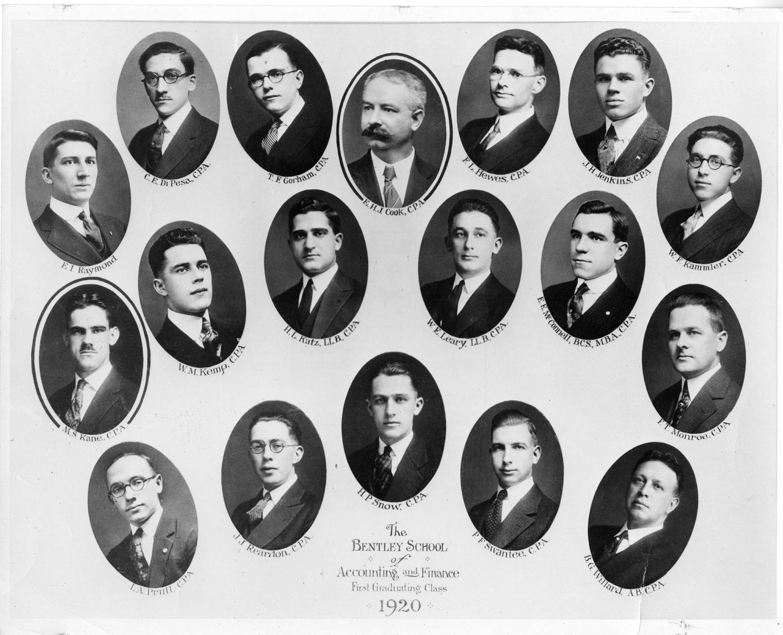 1920 Bentley Graduates