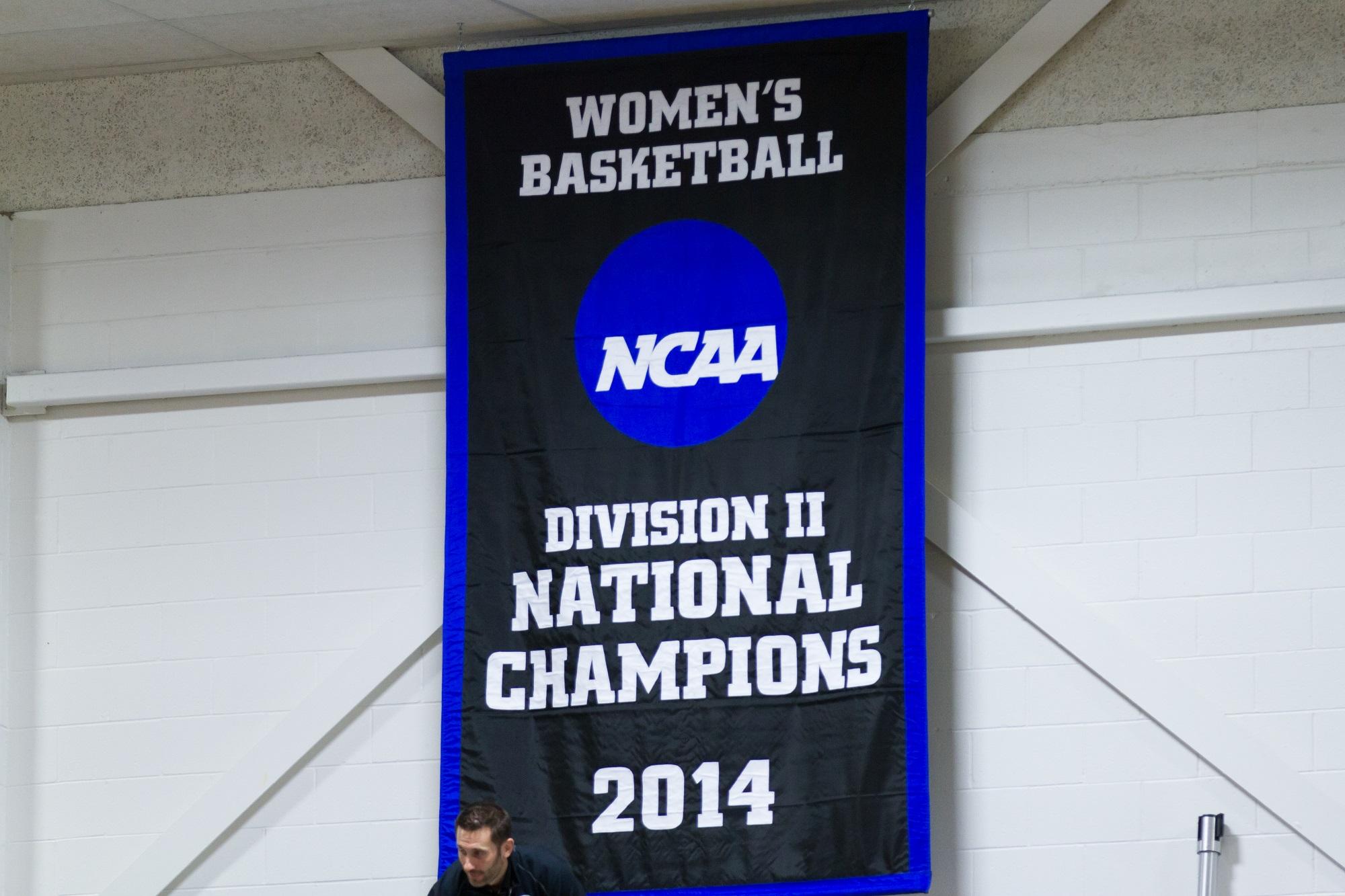 2014 NCAA Championship Banner