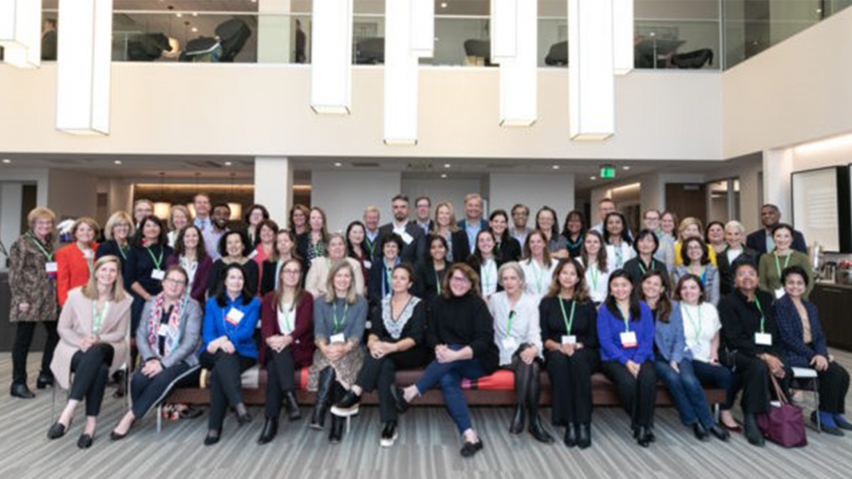 image of 50 employees in lobby