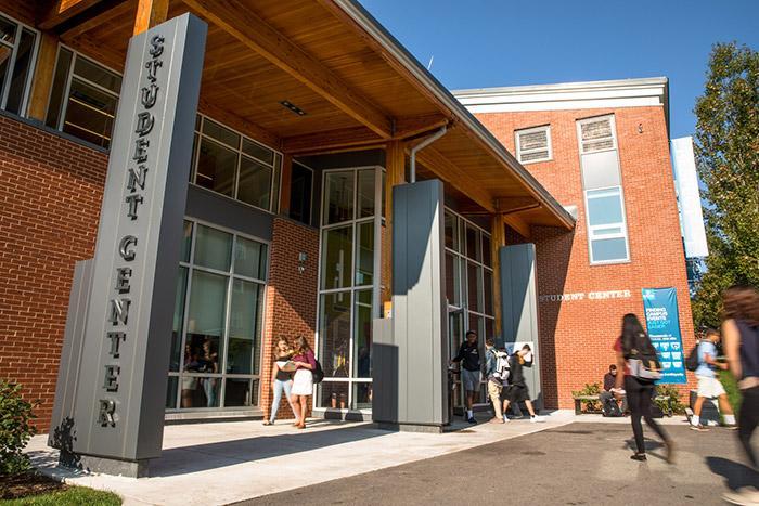 Student Center Outside