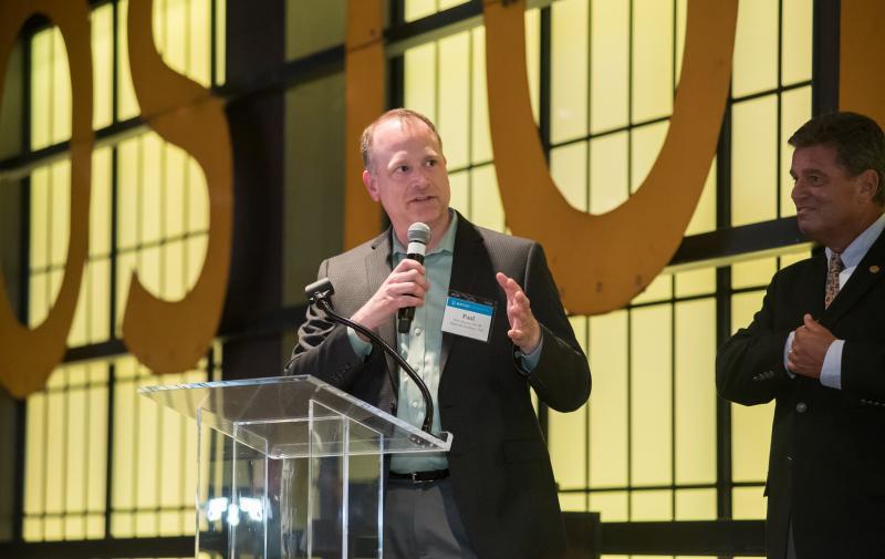 Speaker at BEC event