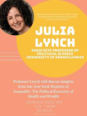 Julia Lynch at Bentley University