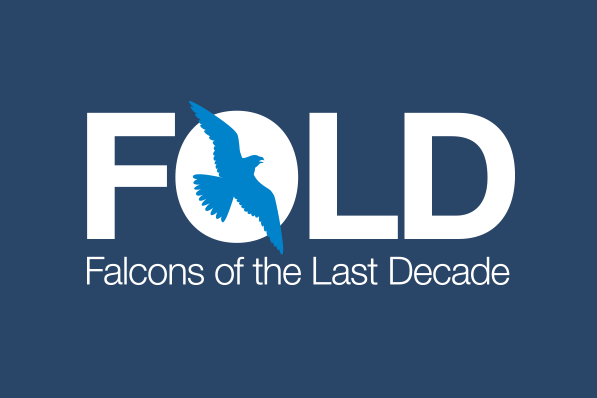 FOLD (Falcons of the Last Decade) logo